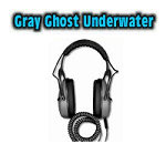 Gray Ghost Underwater Headphones