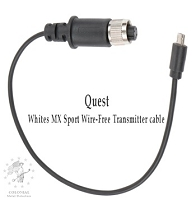 Quest USB Wireless WTX Transmitter Cable - White's MX Sport