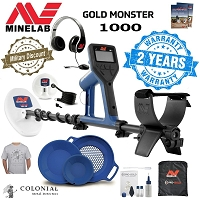 Minelab Gold Monster 1000 Holiday Bundle