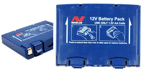 Minelab Alkaline Battery Holder - Sovereign,Eureka