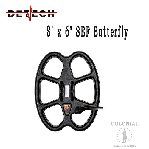 "Detech 8 x 6"" SEF Butterfly Coil - ACE Series"