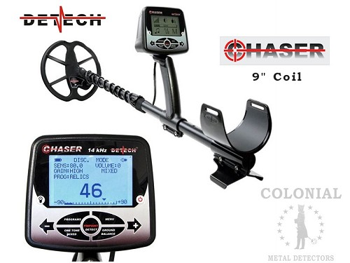"Detech Chaser with 9"" Searchcoil"