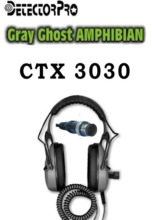 Gray Ghost Amphibian Headphones - CTX 3030