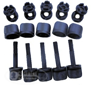 Minelab FBS Coil Nuts, Bolts & Washers - 5 Pack