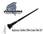 Carbon Fiber Lower Rod 24