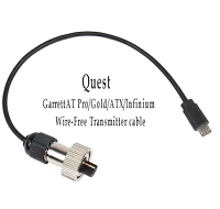 Quest USB Wireless WTX Transmitter Cable - Garrett AT Pro/Gold