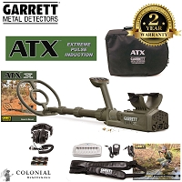 Garrett ATX Pulse Metal Detector - Basic Pack
