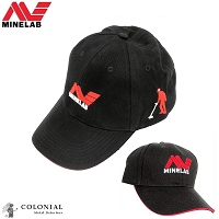 Minelab Embroidered Ball Cap