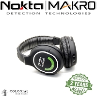 Nokta MAKRO 2.4ghz Wireless Headphones - Green Edition