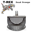 T-REX Stainless Steel Sand Scoops