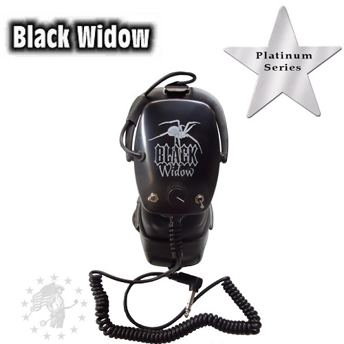 Black Widow Headphones - Platinum Series